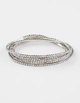 Full Tilt Rhinestone Stretch Bracelets