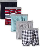 Fruit of the Loom Men's Short Leg Boxer Brief (Pack of 5)