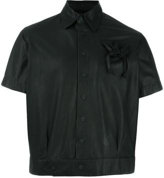 Kokon To Zai Drawstring Pocket Cropped Jacket