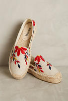 Soludos Embroidered Floral Espadrilles