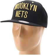 Mitchell & Ness Brooklyn Nets NBA Black/Gold Collection (Brooklyn Nets) - Hats