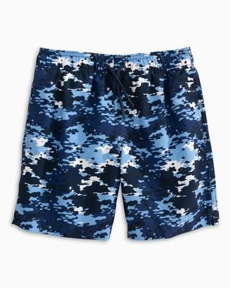Southern Tide Boys Camo Swim Trunk