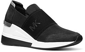 MICHAEL Michael Kors Women's Felix Nylon Slip-On Sneakers