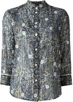 Marc Jacobs sheer printed shirt - women - Silk/Cotton/Lurex - 6