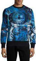 Vivienne Westwood Men's Cotton Printed Sweatshirt