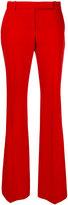Alexander McQueen tailored flared trousers - women - Cupro/Virgin Wool - 40