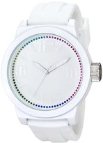Kenneth Cole Reaction Unisex RK1389 Street Fashion Analog Display Japanese Quartz White Watch