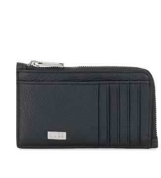 HUGO BOSS Crosstown grained leather wallet