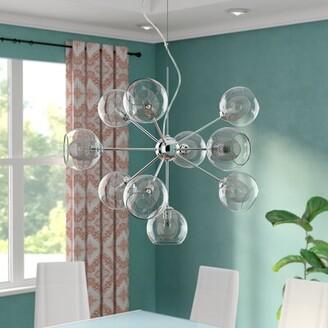 Dayton George Oliver 10-Light Sputnik Sphere Chandelier George Oliver