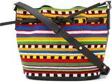Les Petits Joueurs mini 'Daliah' bucket shoulder bag - women - Leather/PVC - One Size