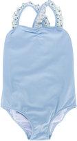 Il Gufo ruffled strap swimsuit - kids - Nylon/Polyamide/Spandex/Elastane - 2 yrs