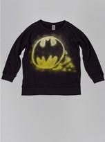 Junk Food Clothing Batman Crewneck Fleece-jet Black-l