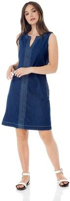 M&Co Roman Originals v-neck shift dress