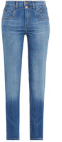 Thumbnail for your product : Current/Elliott Mid-rise Skinny Jeans