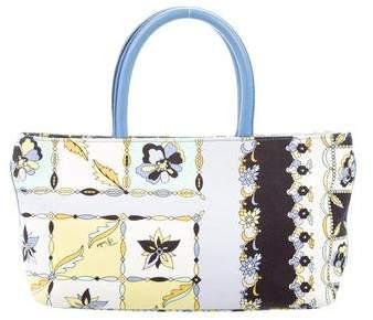 Emilio Pucci Printed Handle Bag