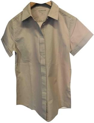 Everlane Beige Cotton Top for Women