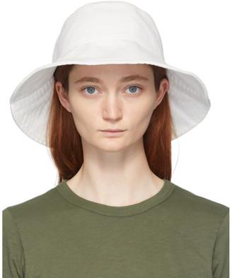 Rag & Bone White Canvas Bucket Hat