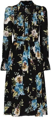 Erdem Gregory floral-print midi shirtdress