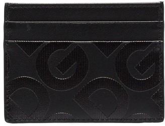 Dolce & Gabbana embossed leather card holder