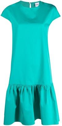 Aspesi Peplum Cotton Dress