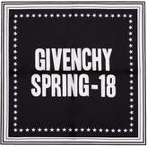 Givenchy Black Spring 18 Scarf