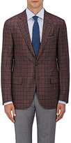 Isaia Men's Sanita Plaid Cashmere Sportcoat-GREY