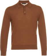 Prada Long Sleeve Wool Polo