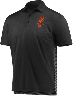 Men's Under Armour Black/Gray San Francisco Giants Novelty Performance Polo