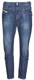 Diesel FAYZA women's Boyfriend jeans in Blue