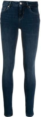 Liu Jo skinny jeans with ankle slits