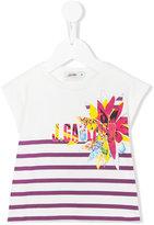 Junior Gaultier striped T-shirt - kids - Cotton/Spandex/Elastane - 24 mth