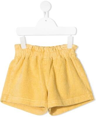 Il Gufo Corduroy Casual Shorts