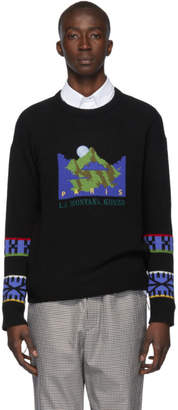 Kenzo Black La Montana Sweater