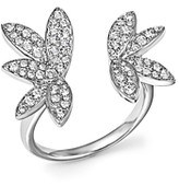 Bloomingdale's Diamond Open Leaf Ring in 14K White Gold, .60 ct. t.w.