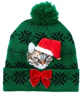 Bioworld Holiday Light Up Cat Beanie
