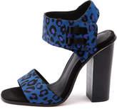Alias mae Cronix Blue leopard Sandals Womens Shoes Dress Heeled Sandals