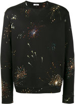 Valentino fireworks print sweatshirt - men - Cotton/Polyamide - S