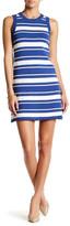 Lush Striped Knit Sweater Dress