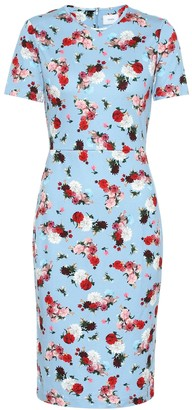 Erdem Exclusive to Mytheresa Essie floral ponte dress