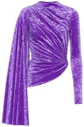 Balenciaga Velvet top