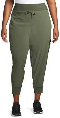 Athletic Works Women's Plus Size Cropped Commuting Joggers