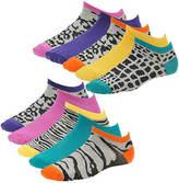 Steve Madden Women's SM28425 10 PK Patterned Low Cut Socks