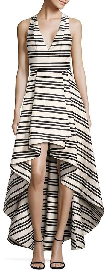 Alice + Olivia Women's Aveena Asymmetrical Gown
