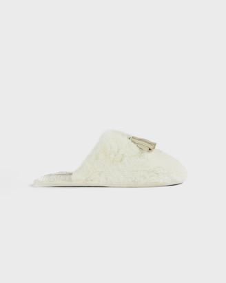 Ted Baker BRETA Faux fur mule slippers