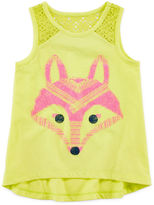 Arizona Lace Inset Tank Top - Toddler Girls 2t-5t