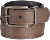 Levi's Antique Brass Buckle Reversible Casual Belt