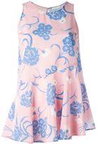 P.A.R.O.S.H. floral print tank top - women - Silk/Spandex/Elastane - L