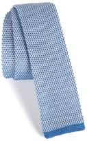 BOSS Men's Solid Knit Cotton Tie