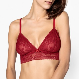 La Redoute Collections Non-Underwired Bustier Bra