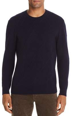 Bloomingdale's The Men's Store at Ribbed Cable-Knit Sweater - 100% Exclusive